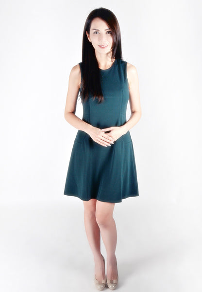 Adult-Pine-line Sleeveless Dress