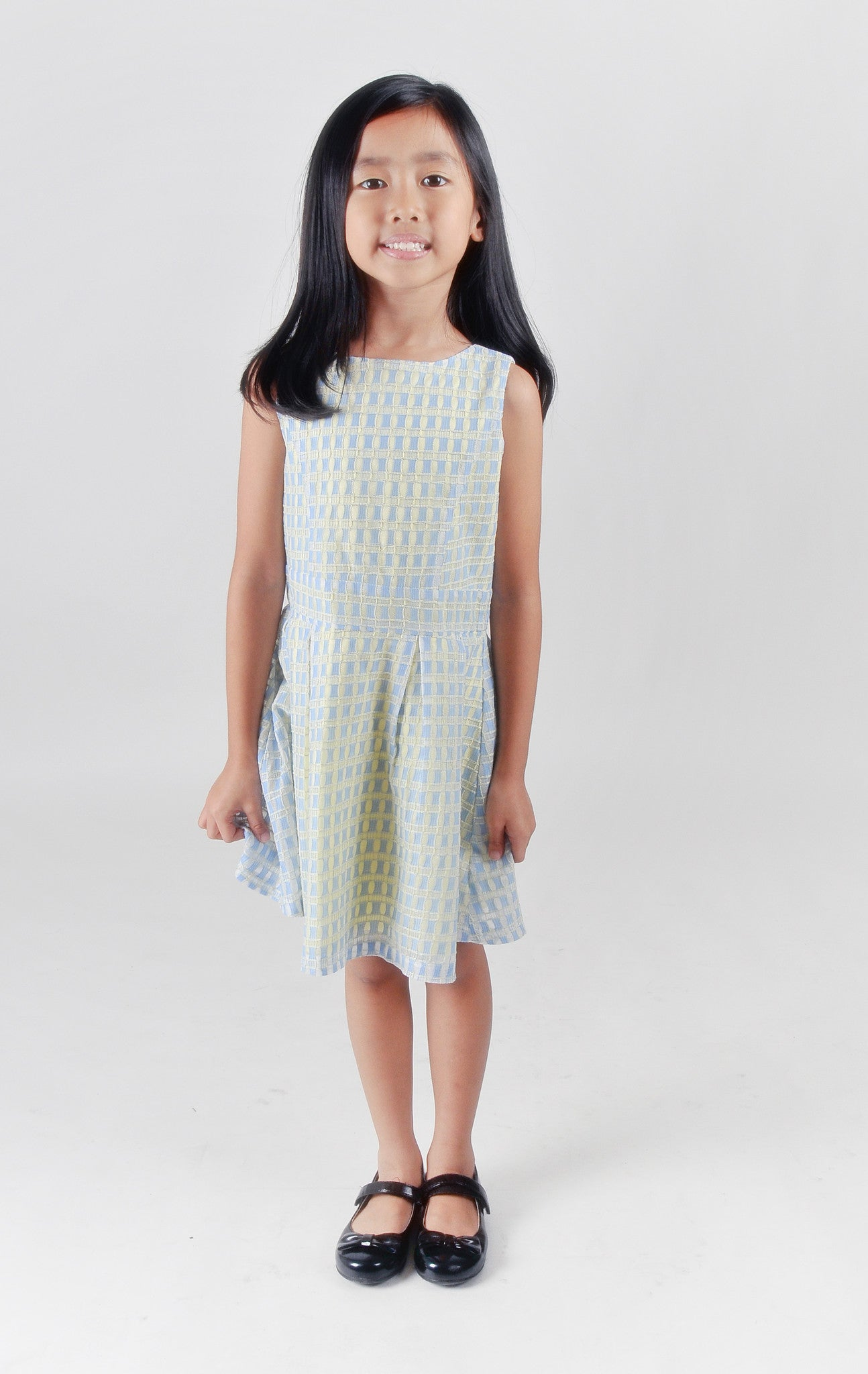 Kids-Fit and flare lace mini dress