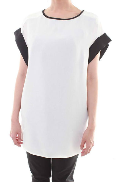 Black and White Contrast Panel Top