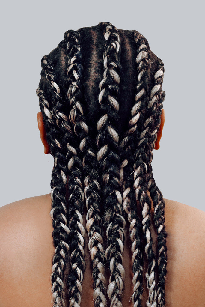 braid better by Rebundle plant-based braiding hair in blonde