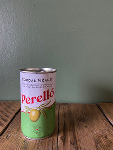 At Home Perello olives (wee tin) 12th & 13th February