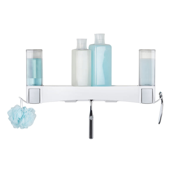 CLEVER 2 X Soap Dispensers + Shower Shelf - Better Living Products Canada