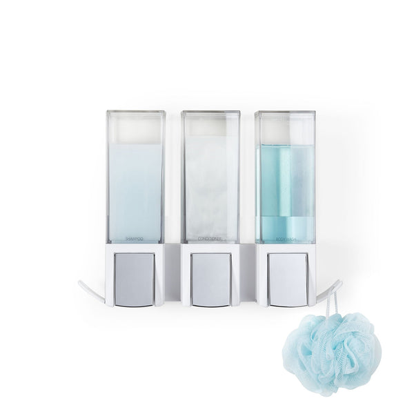 CLEVER Triple Shower Dispenser - Better Living Products Canada