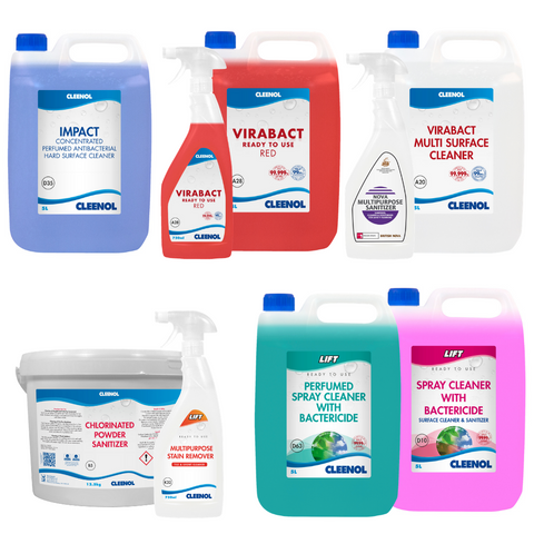 Ready-To-Use Surface Cleaners and Sanitisers
