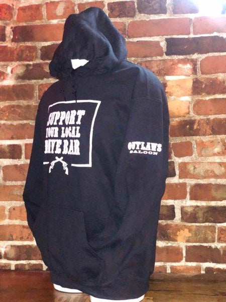 Support Your Local Dive Bar Pullover Hoodie