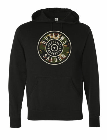 Outlaws Circle Logo - Pullover Hoodie