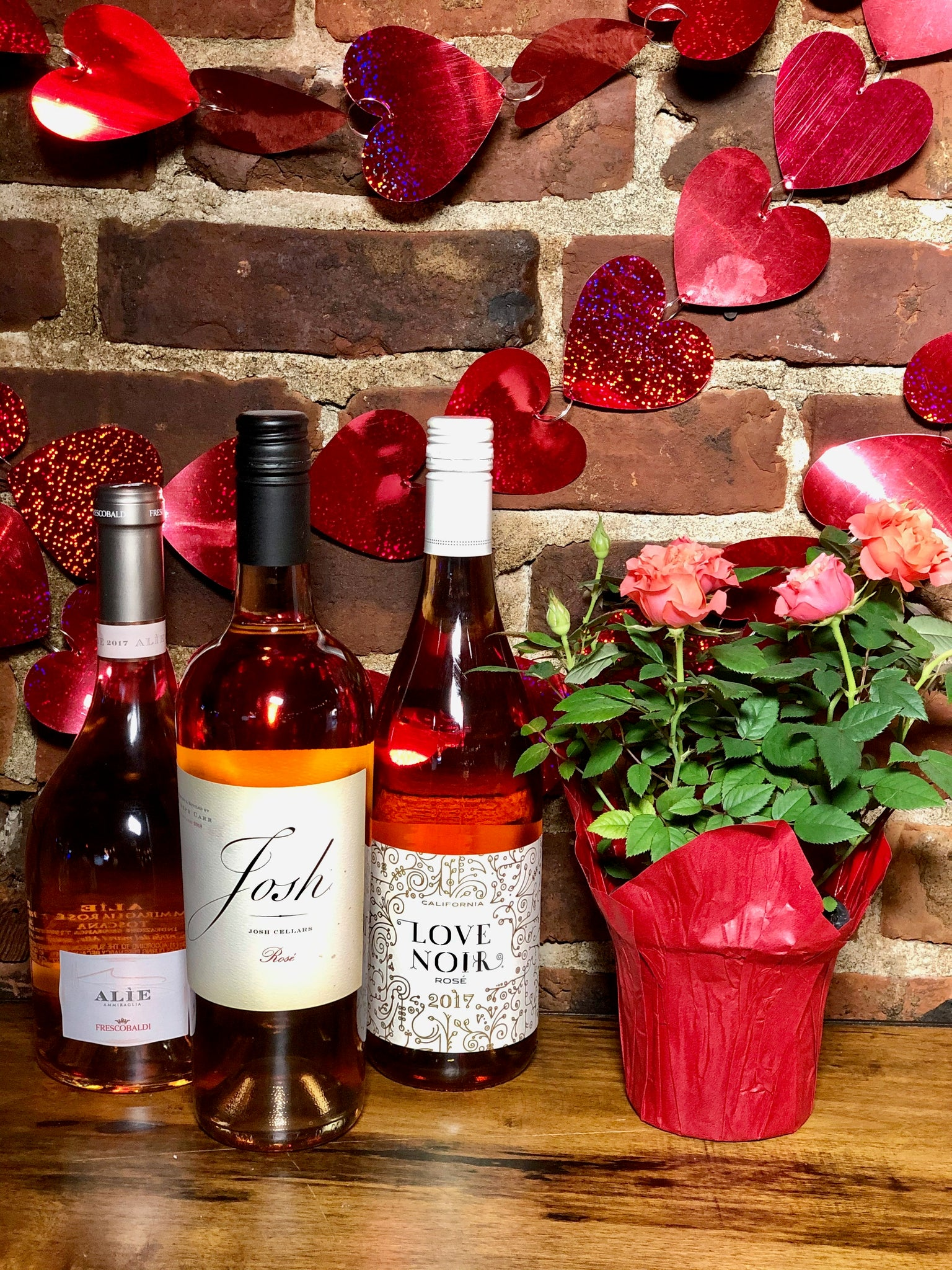 """Roses are nice, but Rosé is nicer"" Boozy Basket"