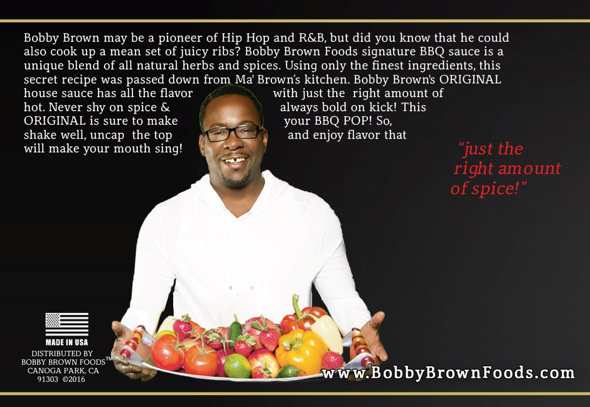 Bobby's Straight FIRE Hot Sauce (12 PACK) - Bobby Brown Foods |Bobby Brown Foods Recipes