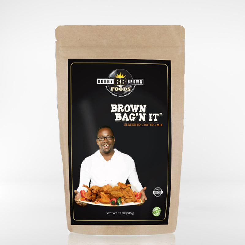Bobby's Brown Bag'N It Fry Mix - BACK IN STOCK