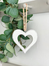 Load image into Gallery viewer, 21-RH Chunky Beaded Hanging Heart