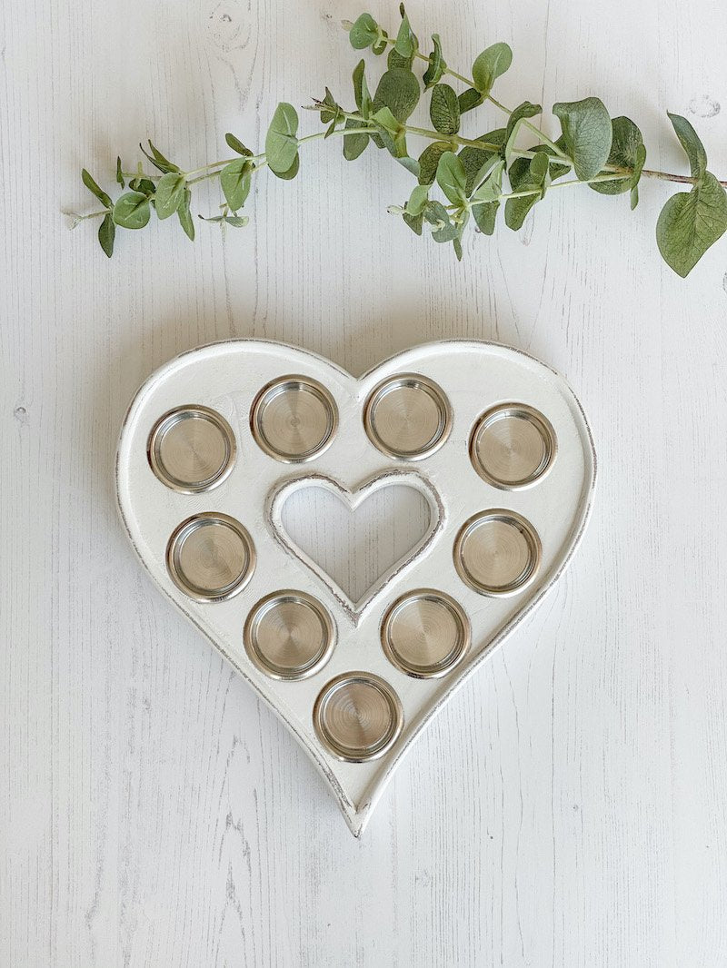 50-RH Heart Tealight Holder