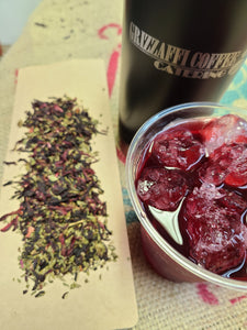 Hibiscus Mint Herbal Tea