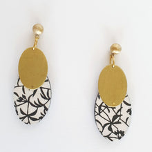 Load image into Gallery viewer, Big Oval Earrings