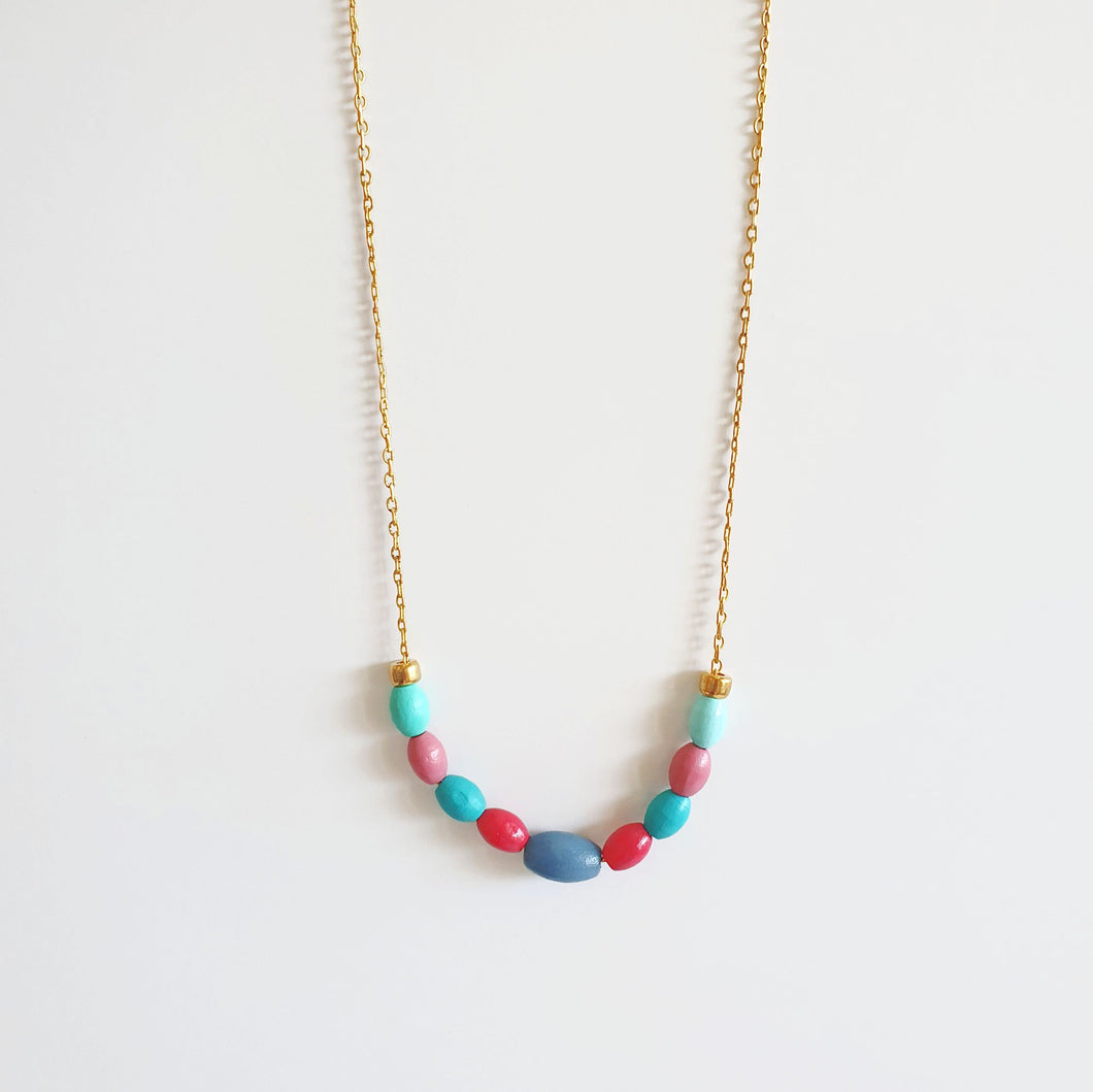 9 Beads Necklace