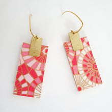 Load image into Gallery viewer, Rectangle Dangle Earrings