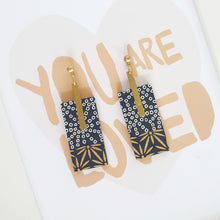 Load image into Gallery viewer, Rectangle Earrings