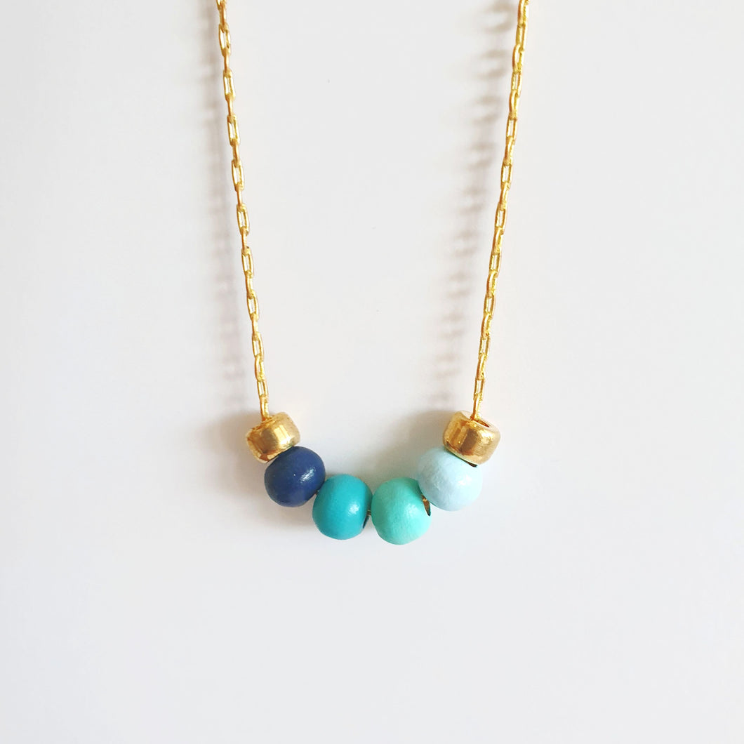 4 Beads Necklace