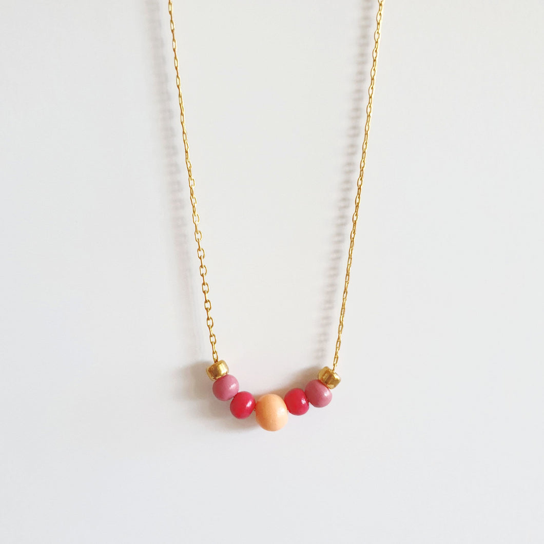 5 Beads Necklace