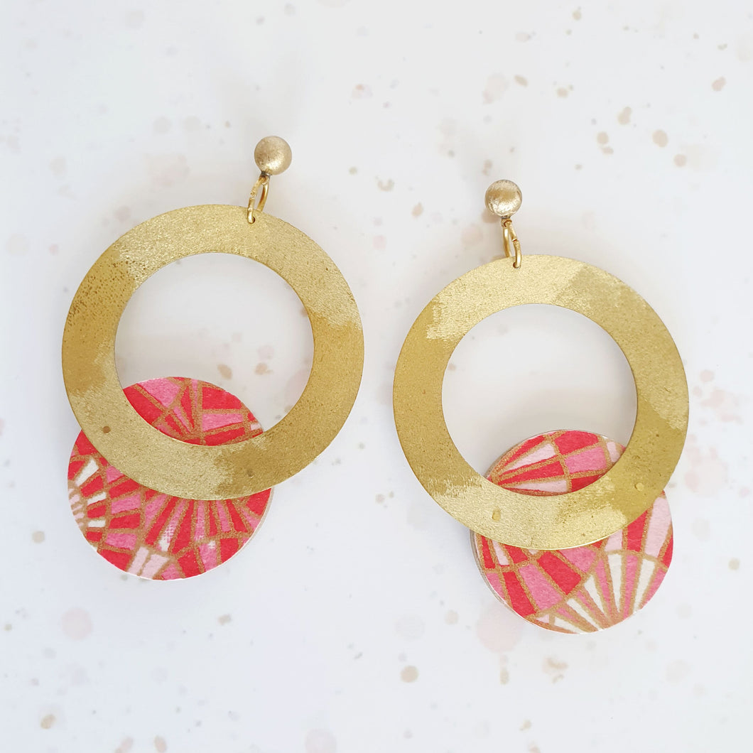 Maxi Donut Earrings