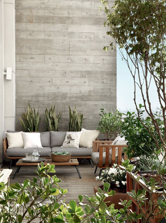 Outdoor living: patios, balconies and terraces