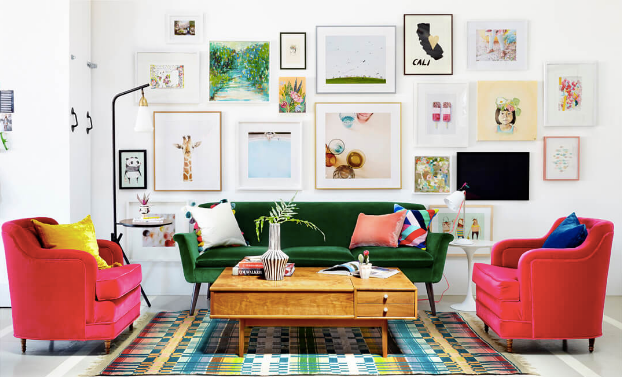 How to Curate an Art Wall Gallery