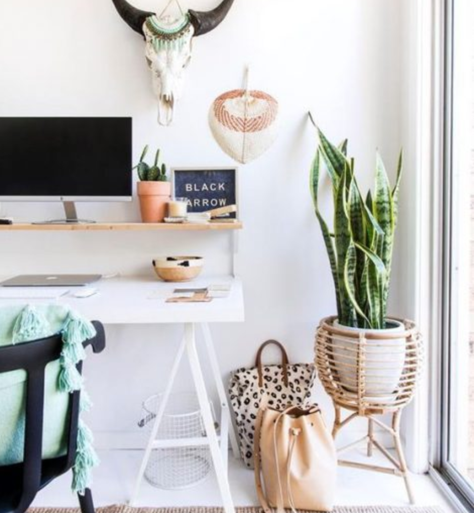 5 Ways to Bring Good Vibes into Your Home Office