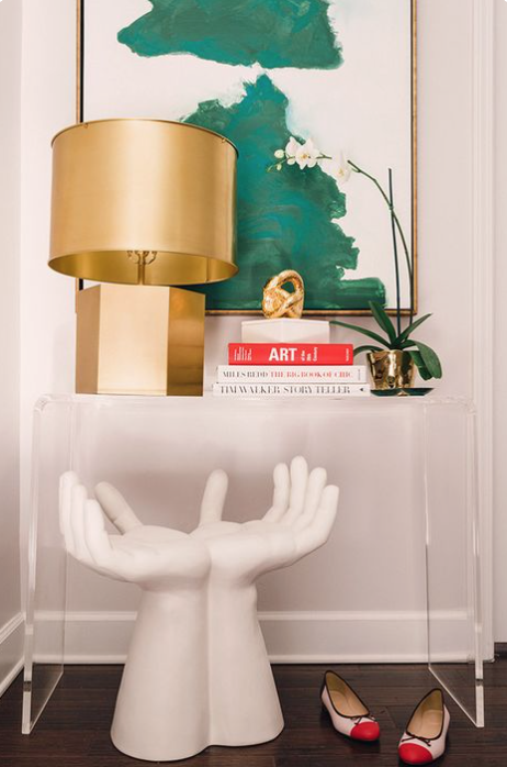 In Love with Lucite/ Modern Home Decor
