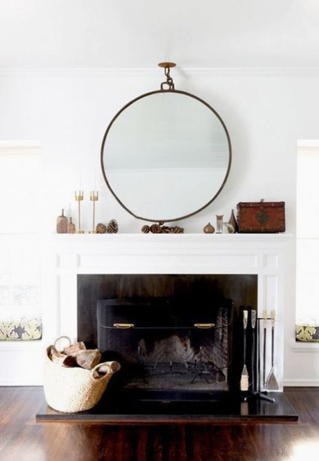 Modern Mantle Styling Tips | Unique Fireplace Accent Ideas