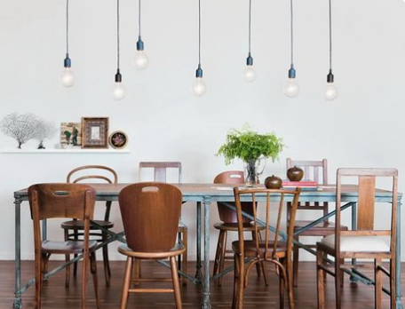 Mix and Match Dining Chairs/Eclectic Dining Style Tips