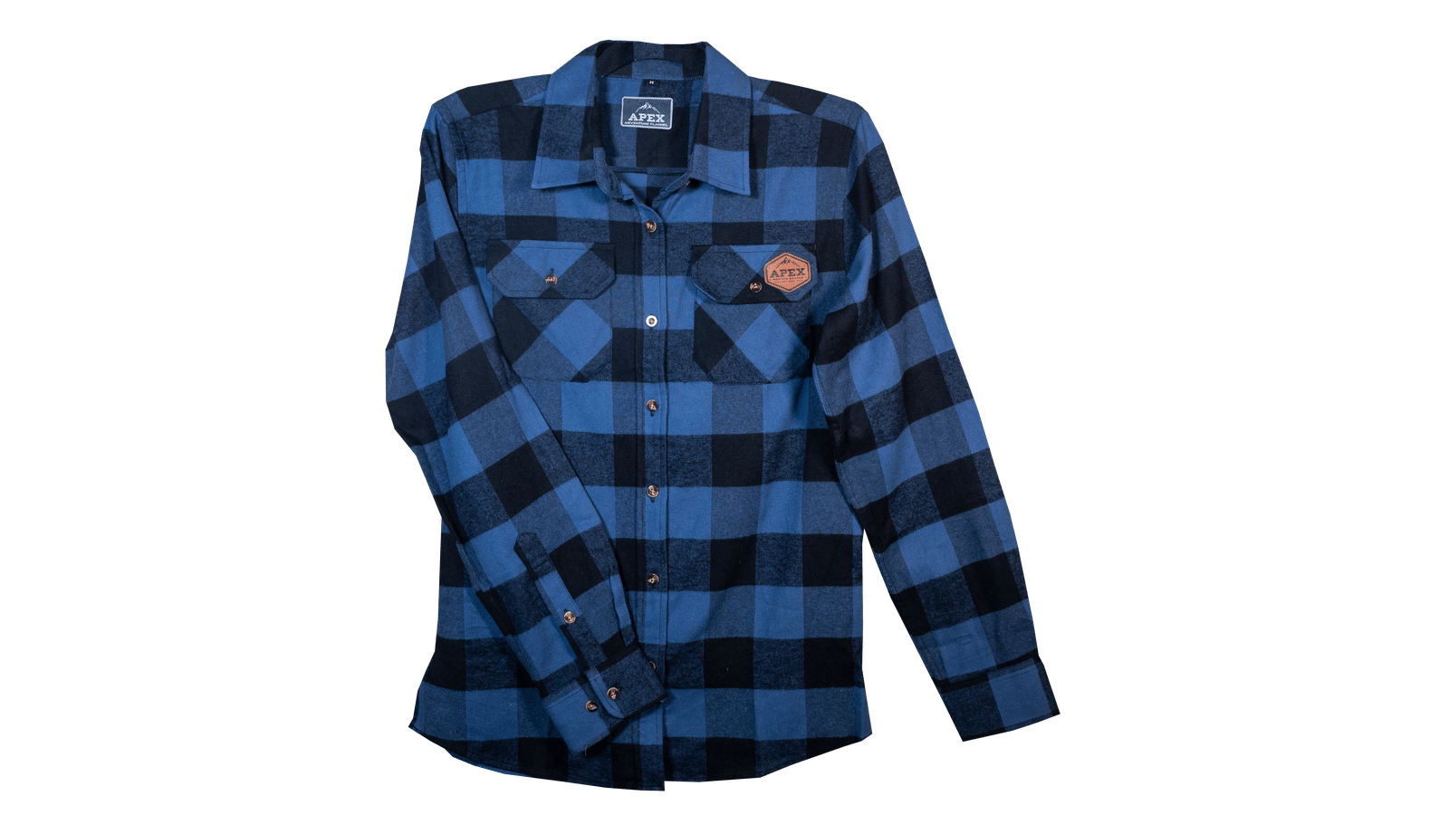 Blue Flannel Front