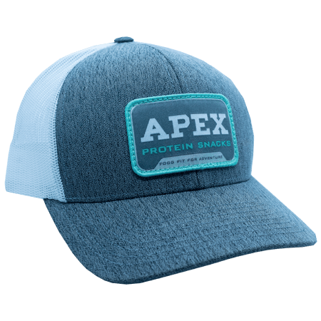 Grey Pacific Apex Seafoam Patch Hat - Side