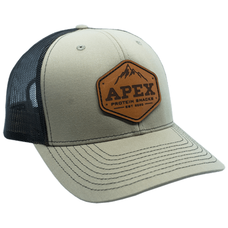 Leather Patch Hat - Side