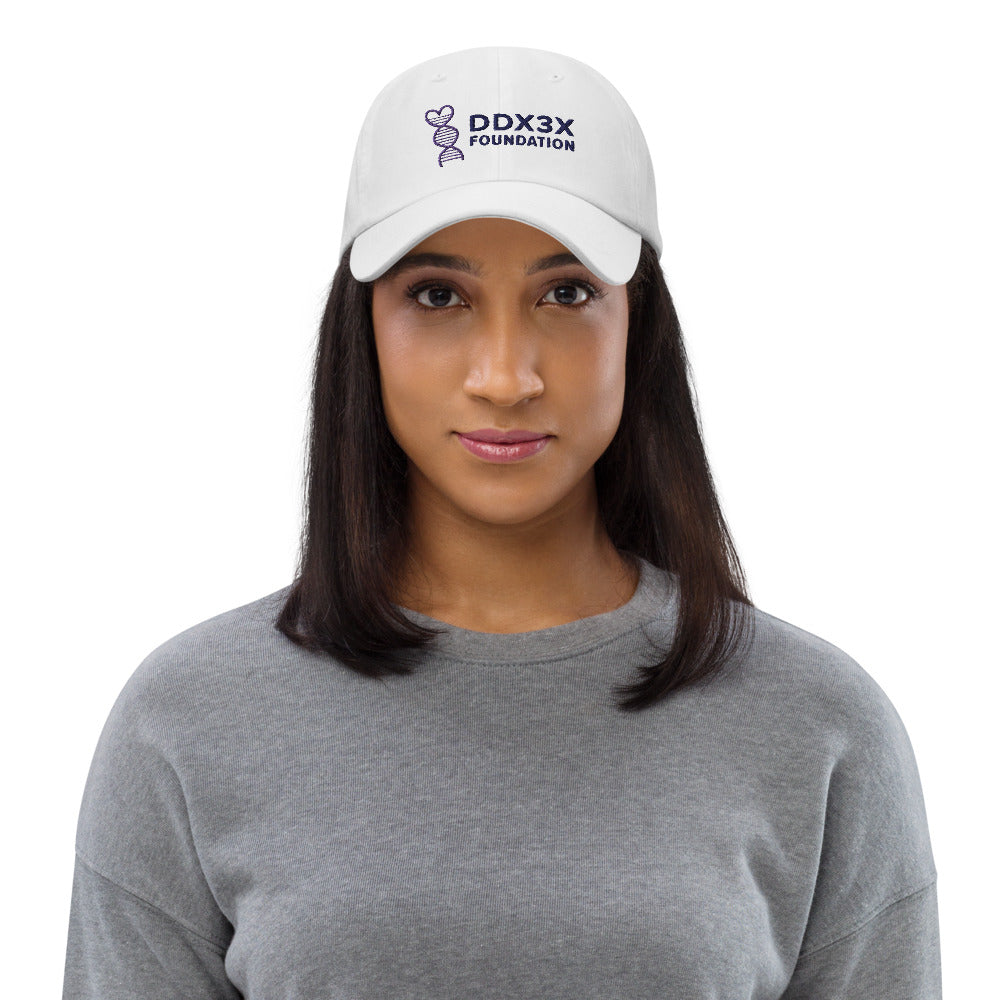 DDX3X Dad Hat - Color Embroidery