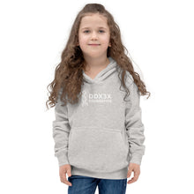 Load image into Gallery viewer, Kids Hoodie - White Print