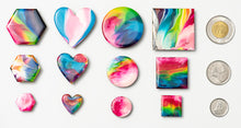 Load image into Gallery viewer, Large Heart Pair Magnets 1039