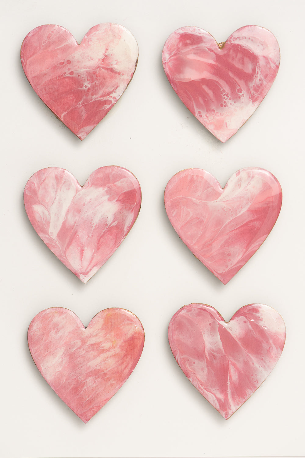 Learge Heart Magnet Multipack 1049
