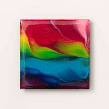 Load image into Gallery viewer, Large Square Rainbow Magnet 1081