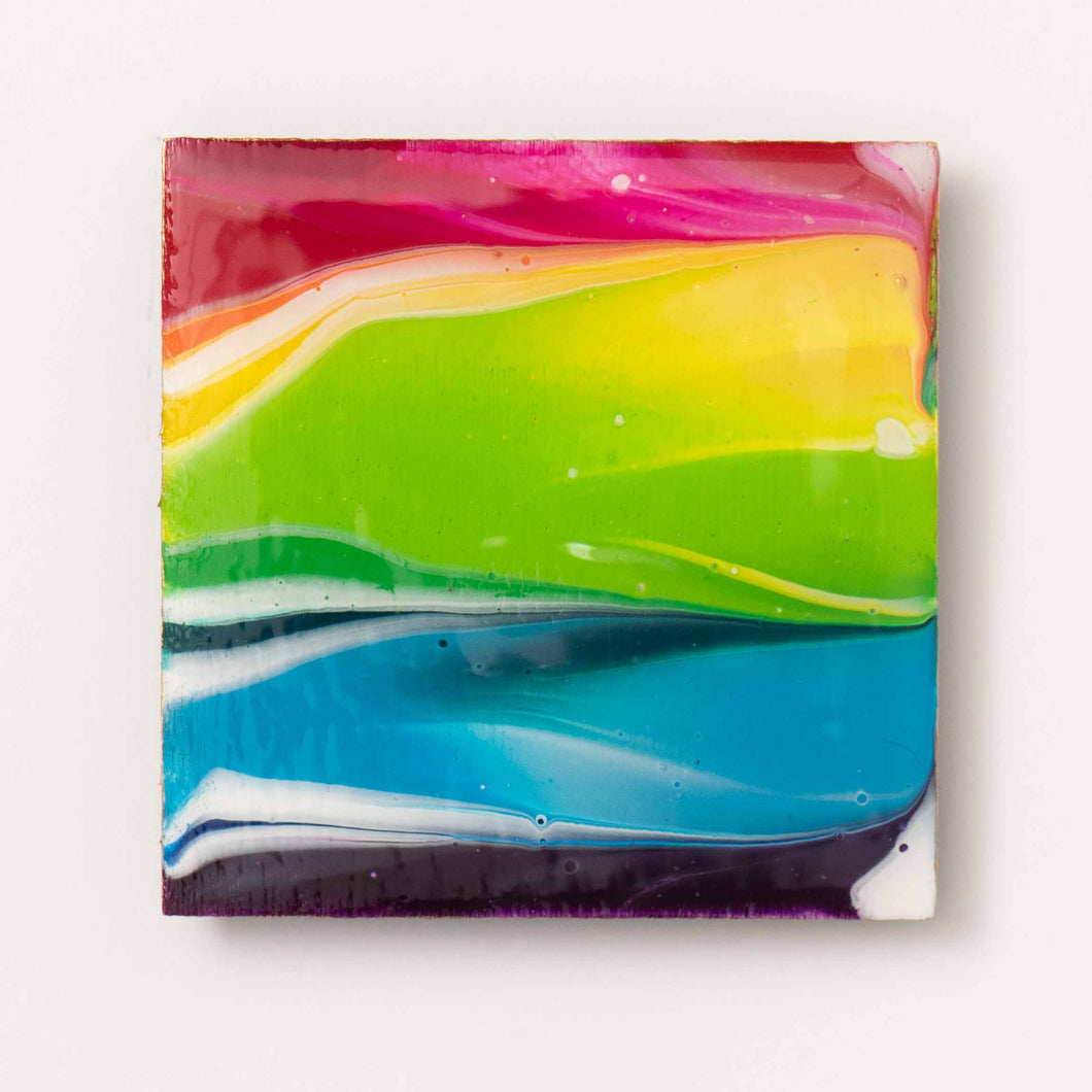 Large Square Rainbow Magnet 1090