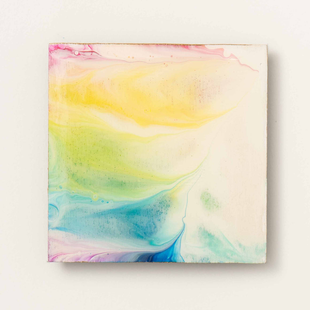 Large Square Rainbow Magnet 1096