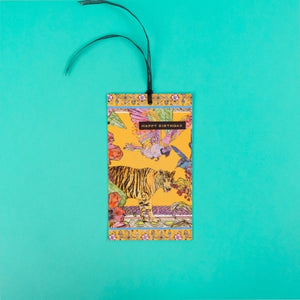 Happy Birthday Tiger Hanging Card