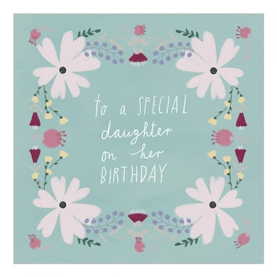 To A Special Daughter On Her Birthday