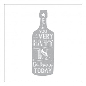 A Very Happy 18th Birthday Bottle