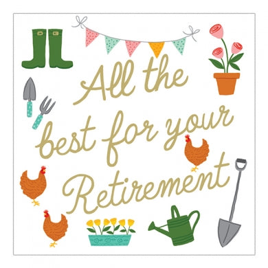 All The Best For Your Retirement
