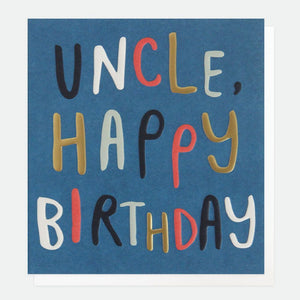 Uncle Happy Birthday