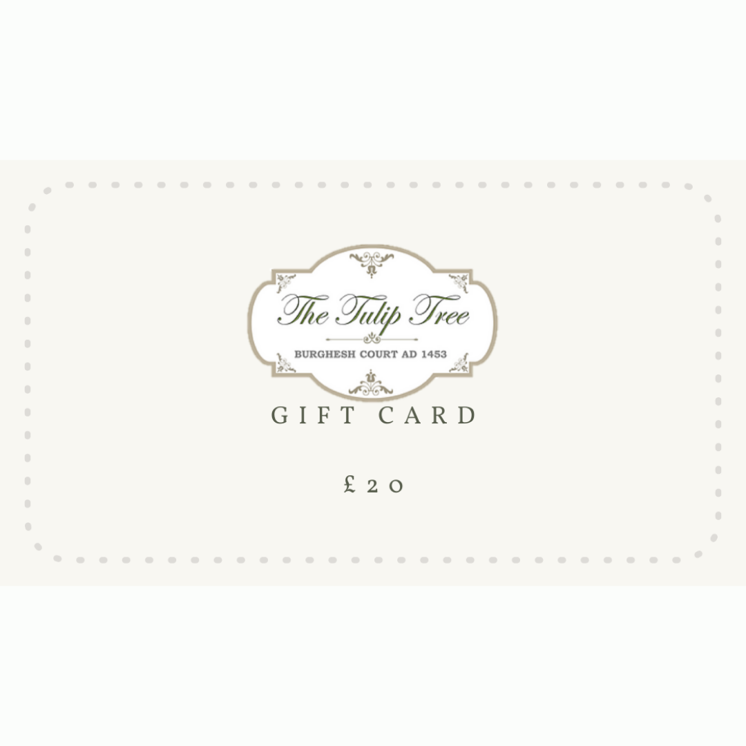 The Tulip Tree Gift Card £20