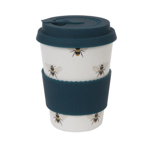 Bees Bamboo Travel Mug