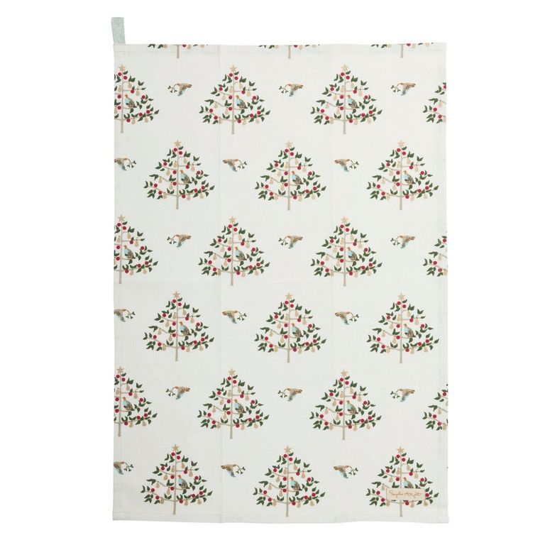 Partridge in a Pear Tree Tea Towel - The Tulip Tree Chiddingstone
