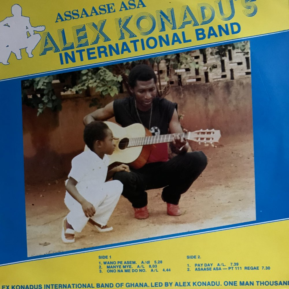 "Alex Konadu's International Band ""Assaase Asa"""