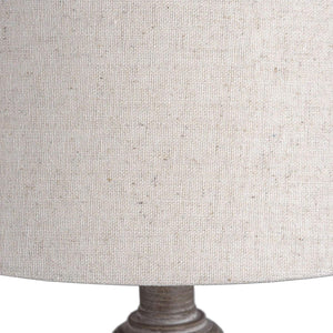 Linen and Wood Teos Table Lamp-Hills Interior-Luxe Interior