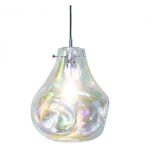 Lava Mouth Blown Glass Pendant Light